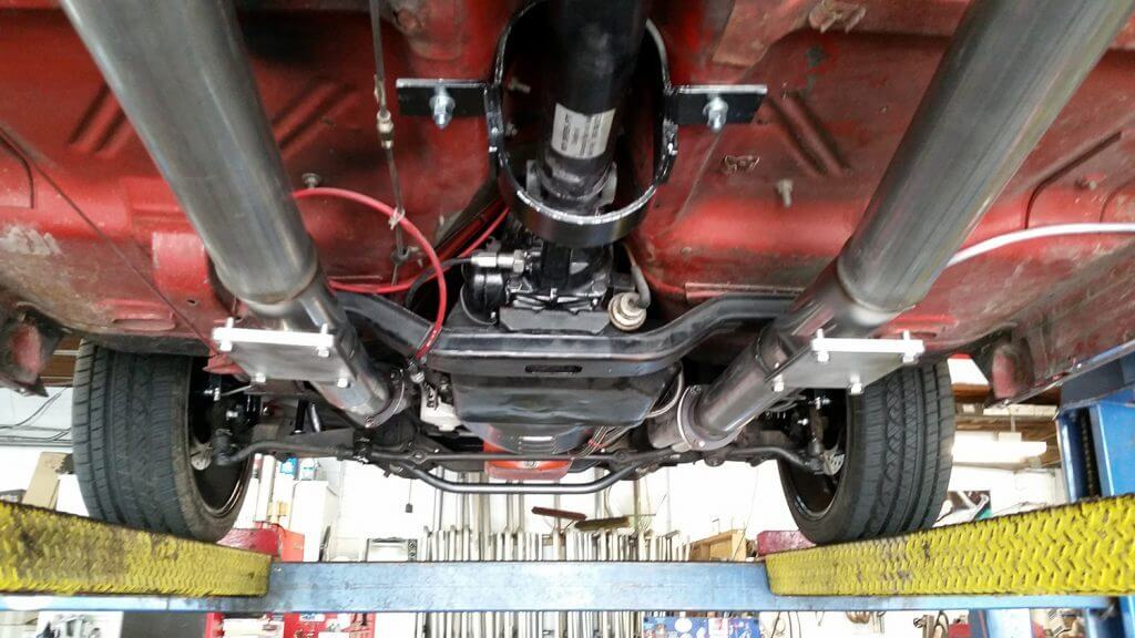 1964 Chevy Nova 383 Stroker Motor. Cuthroats installed