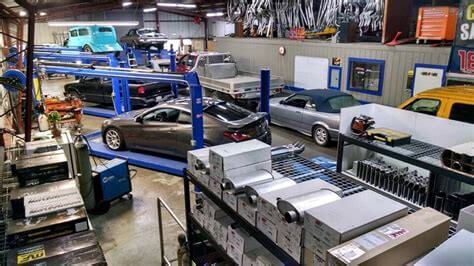 Website, Muffler Shop Pic